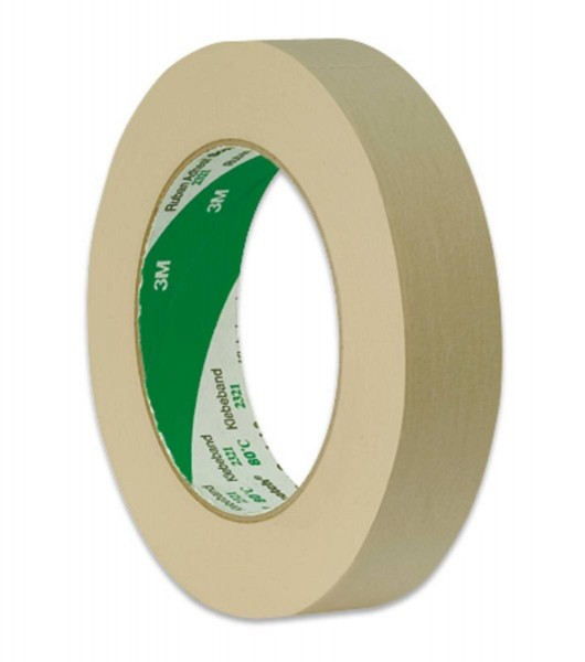 3M Scotch Kreppklebeband 2321, Naturfarben, 24 mm x 50 m, 0,135 mm